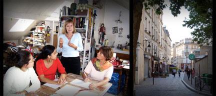Atelier et stage d'écriture à Paris